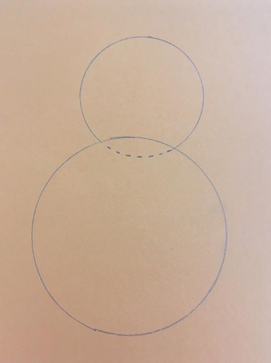 Wie zeichne ich einen Osterhasen zum Basteln?